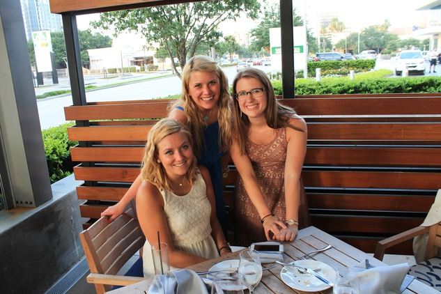 News, Shelby, Omar Pereny's 21st birthday, July 2015, Natalie Harms, Emily Wilkinson and Cara Smith