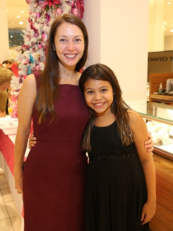 Dr. Emily Sedgwick, left, and Lauren Aguilar at Neiman Marcus' Stiletto Strut