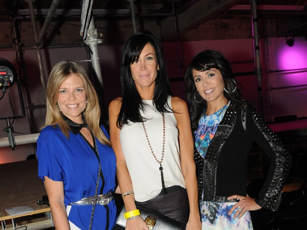 14 Stephanie Perkins, from left, Natalie Reitman and Diane Caplan at Diverseworks' Fashion Fete
