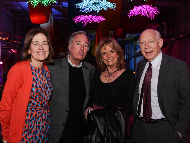 6 Andrea White, from left, Barry Silverman, Shara Fryer and Bill White at the Social Book Launch Party February 2014