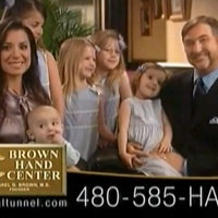 Michael Brown hand surgeon commercial RUN FLAT