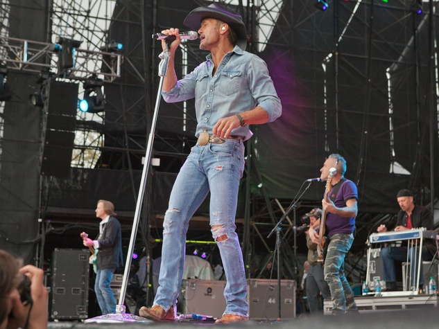 Tim McGraw at March Madness Music Festival