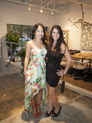 Tiffany Hond, Nicolle Fernandez, Uber Party