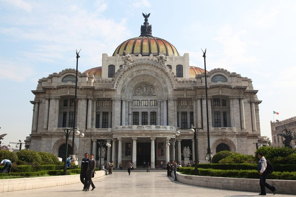 Palacio de Bellas Artes, Mexico City, July 2012