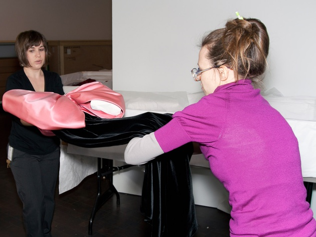 News_Donae Cangelosi Chramosta_Yves Saint Laurent_Denver Art Museum_March 2012_Behind the Scenes