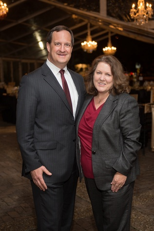 6889 Mark and Sue Worscheh at the Heritage Society Gala December 2014