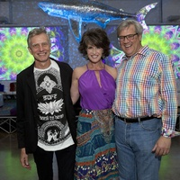 Glassell Benefit and Auction 2015 Joe Havel; Melissa and Albert Grobmyer