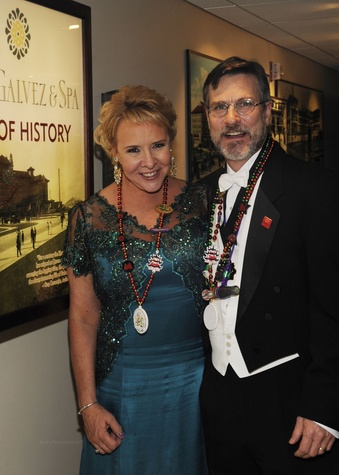 Sally and Robert Kline at the Knights of Momus Ball February 2015