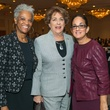 16 Jackie Martin, from left, Ellen Cohen and Licia Green Ellis at the AIDS Foundation Houston luncheon December 2014