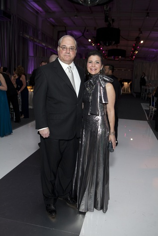 Tony and Cynthia Petrello at the Alley Ball April 2014