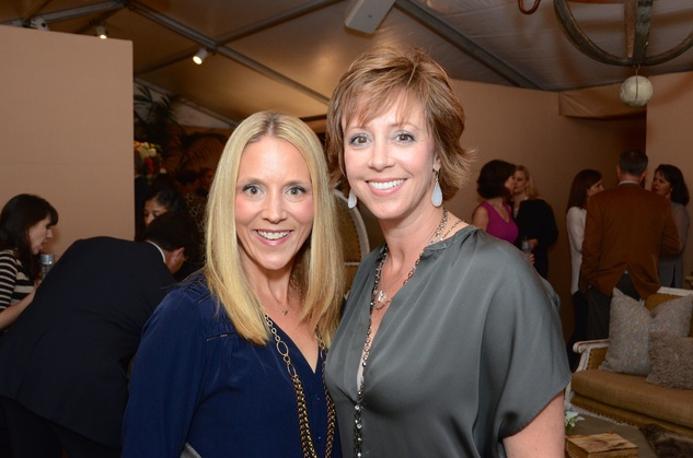 Nisha Patterson, left, and Carrie Evans at the Butler Brothers party November 2014
