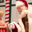 7 Gracie Iglinsky visits with Santa at the M.D. Anderson Breakfast with Santa December 2014