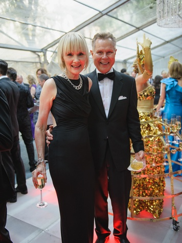 Erin Mathews, Russ Davis at Art Ball 2014