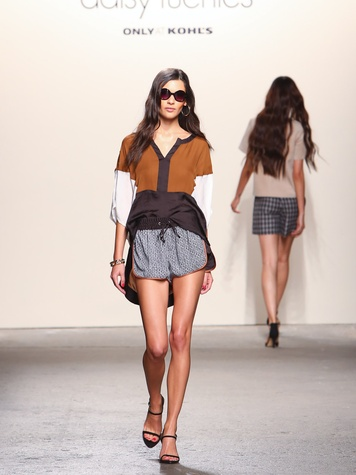 Fashion Week spring summer 2014 Daisy Fuentes Look 9