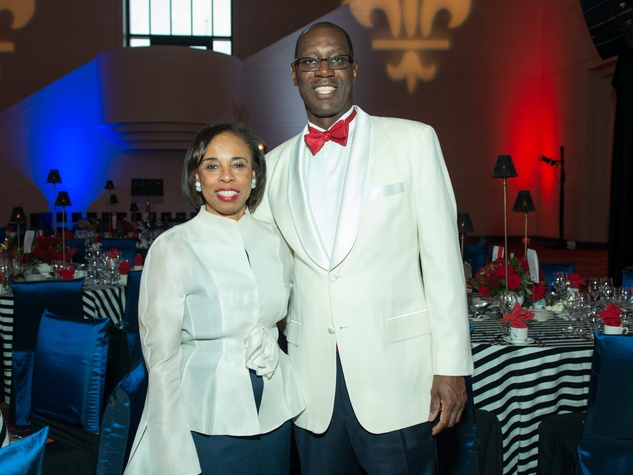 8 Phyllis and Cornell Williams at the Moores School Gala March 2015