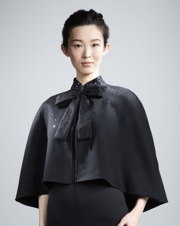 Prabal Gurung  sequined cape from Neiman Marcus + Target Collection