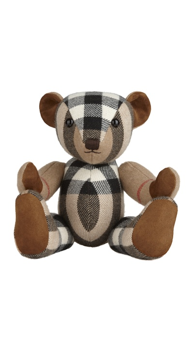 Burberry cashmere teddy bear