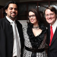News_Opera Vista Duchess party_October 2011_Viswa Subbaraman_Sara Churchill-Sandys_Jonathan Churchill-Sandys