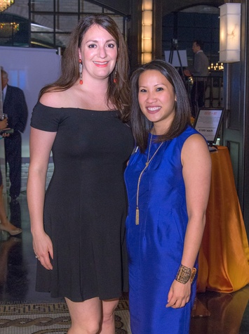 Houston, Writers in the Schools gala, Dec 2016, Mitra Woody, Julie Tran