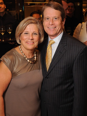 Jane and Dean Gladden at the Gucci Alley Theatre cocktail party October 2013