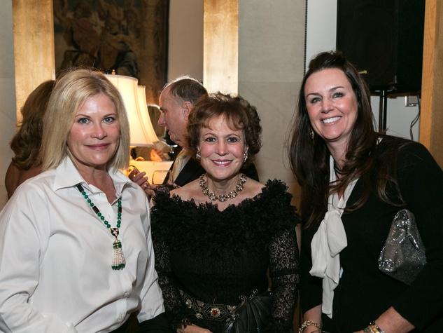 Kelli Blanton, from left, Regina Rogers and Suzanne Muchard at the M.D. Anderson Living Legend in Washington, D.C. November 2013