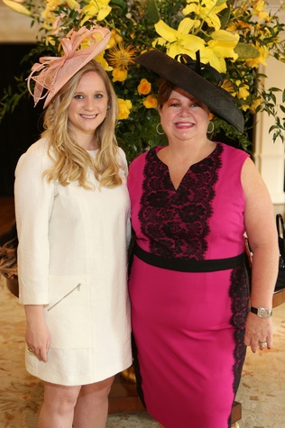 12 Tany Jeter Klaes, left, and Robin Klaes at Hats Off to Mothers luncheon March 2015