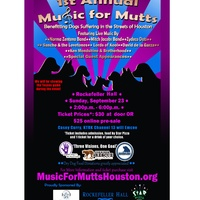 """Music For Mutts"" benefiting local dog rescue groups"