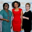 Cherrie Thompson, from left, Andrea Ainsworth McLemore and Jeanne Praed Haner at the Aga Khan Foundation Emmisary awards reception September 2014