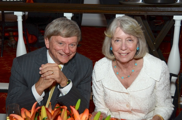 New, Shelby, Communities in School gala, April 2015, Rusty and Tissy Hardin