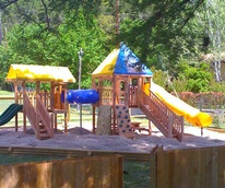 Ski Shores kid-friendly playscape