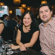 9 Dr. Christine Le and Santiago Campos at Dine Around Houston at Sparrow Bar & Cookshop