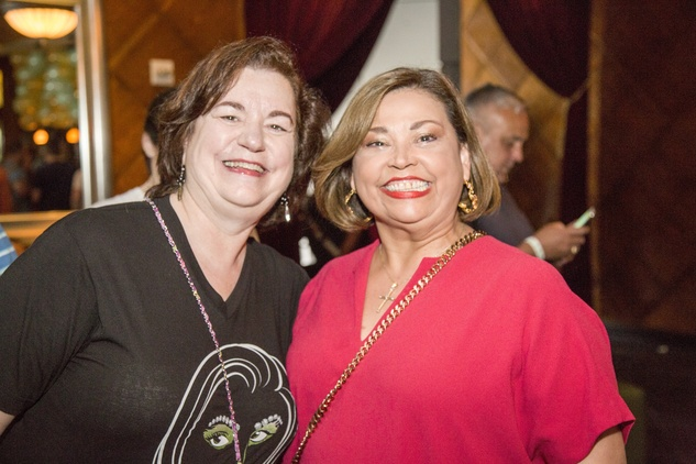 News, Shelby, Legacy Mint Julep party, July 2015, Katy Caldwell, Linda Cantu