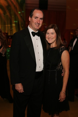 Kirby and Stephanie Shanks at the Houston SPA Society for the Performing Arts Gala March 2015