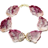 Kara Ross Raw Ruby Necklace