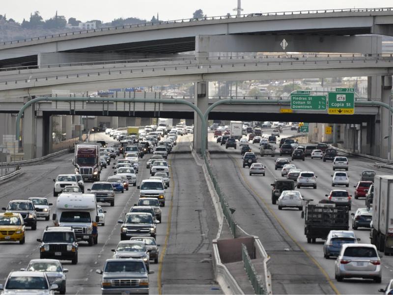 dfw traffic report