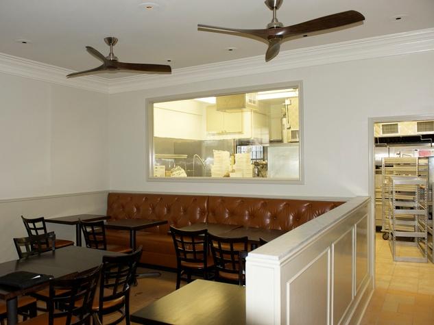 6 Pax Americana Houston restaurant June 2014 interior toward kitchen