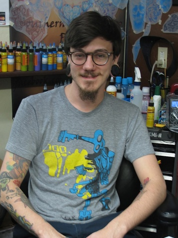 Louisiana, Southern Sting Tattoo Parlor Eric Guidry tattoo artist
