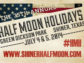 poster for Shiner Half Moon holidays 2014