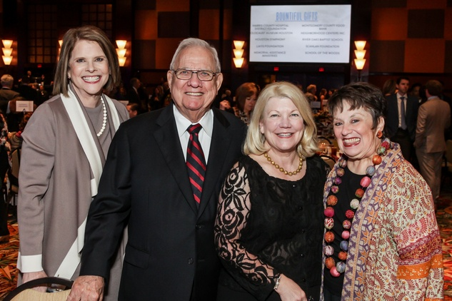 News, National Philanthropy Day Awards, Dec. 2015, Anne Murphy, Jim Murphy, Peggy Chabaud, Barbara Friedman