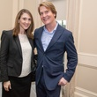 5 Anna Autin and George Lancaster at the Urban Land Institute Houston mixer October 2014