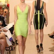 News_Herve Leger_Lobov Azria_April 2012_model_runway