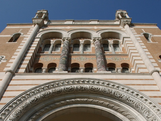 Rice University, Sallyport, arch, archway