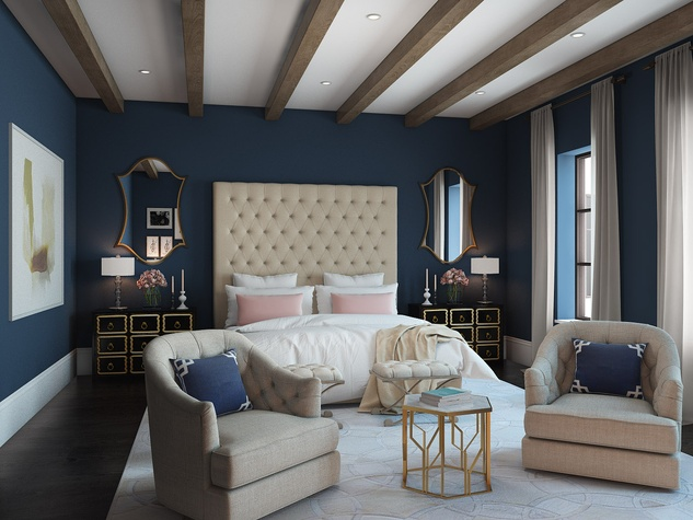 Houston, News, Shelby, Sudhoff Hampton Lane Collection, April 2015, 2203 Looscan - bedroom