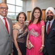 Amin and Fatima Mawji, from left, and Jasmeeta and Bobby Singh at the Interfaith Ministries Tapestry Gala May 2014