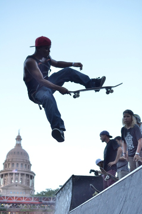 x games rally skateboard and capitol