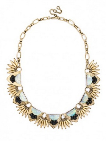 Minerva Fringe Collar  - Megan Runser - As Good As Gold