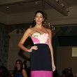 370 A model on the runway at the Chloe Dao luncheon for Pratham December 2014