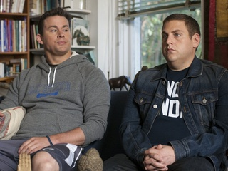 Channing Tatum and Jonah Hill in 22 Jump Street