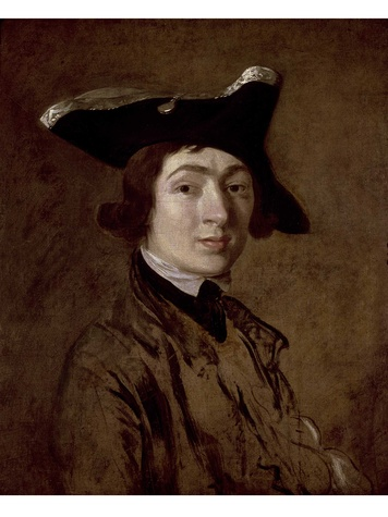 Houghton Hall MFAH Gainsborough - Self Portrait