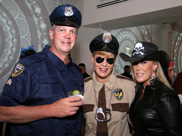 Houston, Clayton Dabney for Kids with Cancer Halloween Bash, Oct 2016, Scott Holstead, Jill Holstead, Courtney Hopson